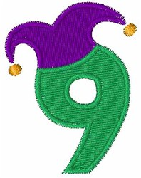 Jester Hat 9 embroidery design