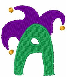 Jester Hat A embroidery design
