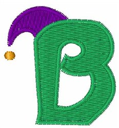 Jester Hat B embroidery design