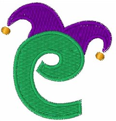Jester Hat C embroidery design