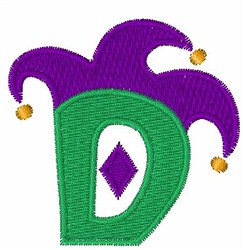 Jester Hat D embroidery design