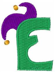 Jester Hat E embroidery design