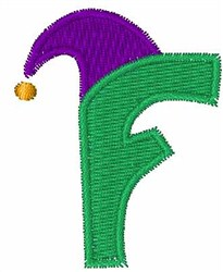 Jester Hat F embroidery design