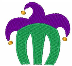 Jester Hat M embroidery design