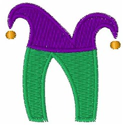 Jester Hat N embroidery design