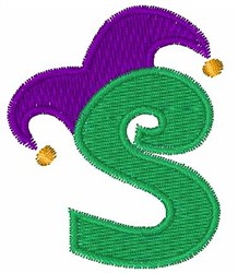 Jester Hat S embroidery design