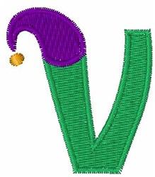 Jester Hat V embroidery design
