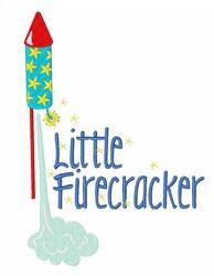 Little Firecracker embroidery design