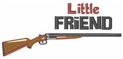 Little Friend embroidery design