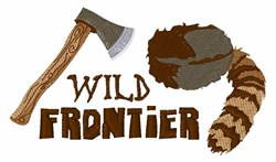 Wild Frontier embroidery design