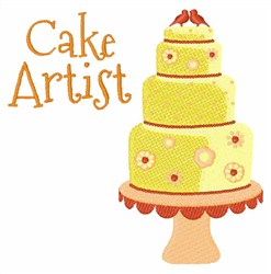 Cake Artist embroidery design