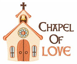 Chapel Of Love embroidery design