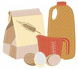 Recipe Ingredients embroidery design