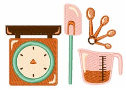 Cooking Tools embroidery design