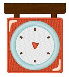 Kitchen Scale embroidery design