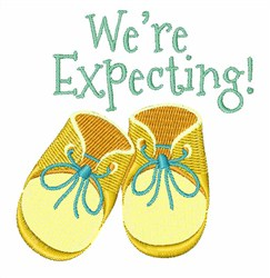 Were Expecting! embroidery design
