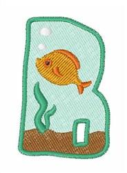 Fish Tank Font b embroidery design