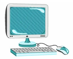 Monitor & Keyboard embroidery design