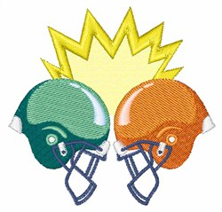 Football Helmets embroidery design