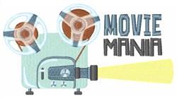 Movie Mania embroidery design