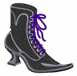 , Witch Boot embroidery design