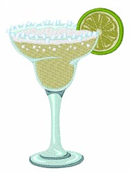 Margarita Drink embroidery design