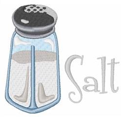 Salt Shaker embroidery design