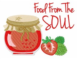 Food From The Soul embroidery design