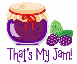 Thats My Jam embroidery design