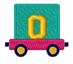 Toy Train 0 embroidery design