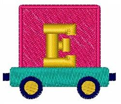 Toy Train E embroidery design