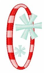 Stripes & Snowflakes 0 embroidery design