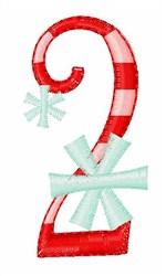 Stripes & Snowflakes 2 embroidery design