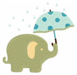 Toy Elephant embroidery design