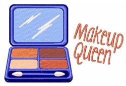 Makeup Queen embroidery design