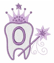 Tooth Fairy Font 0 embroidery design