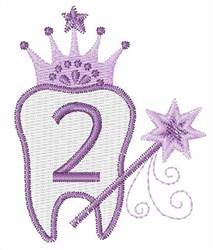Tooth Fairy Font 2 embroidery design