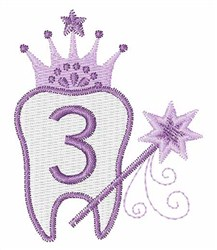 Tooth Fairy Font 3 embroidery design