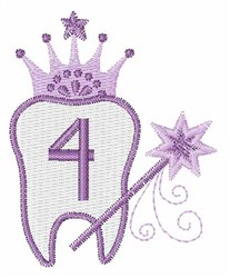 Tooth Fairy Font 4 embroidery design