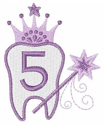 Tooth Fairy Font 5 embroidery design