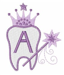 Tooth Fairy Font A embroidery design