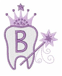 Tooth Fairy Font B embroidery design