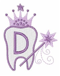 Tooth Fairy Font D embroidery design