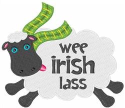 Wee Irish Lass embroidery design