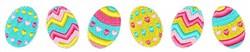 Easter Egg Border embroidery design