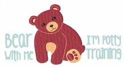 Bear With Me embroidery design