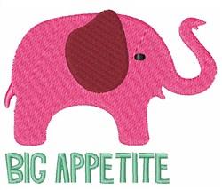 Big Appetite embroidery design