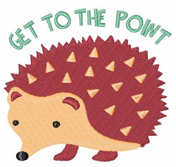 Get To Point embroidery design