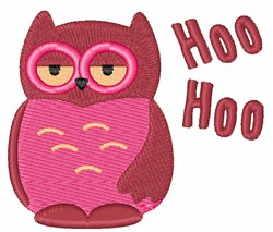 Hoo Hoo embroidery design