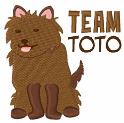 Team Toto embroidery design